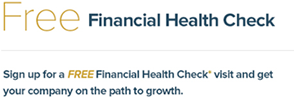 Sign up for your free financial health check